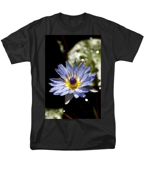 Waterlily After The Rain ... Men's T-Shirt  (Regular Fit) by Lehua Pekelo-Stearns