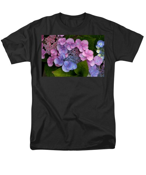 Blueberries And Cream Men's T-Shirt  (Regular Fit) by Living Color Photography Lorraine Lynch