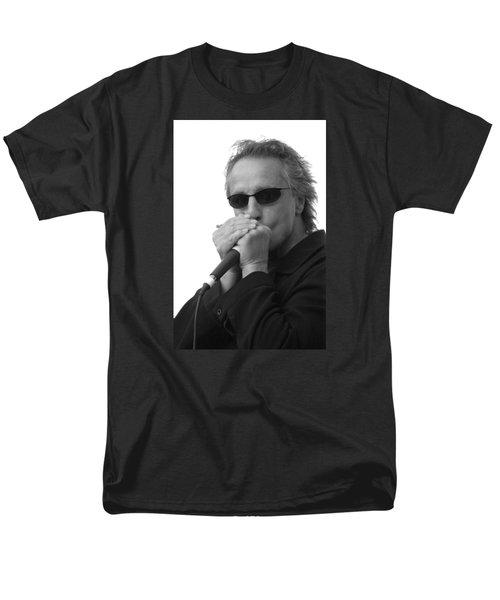Bluesman James Montgomery Men's T-Shirt  (Regular Fit) by Mike Martin