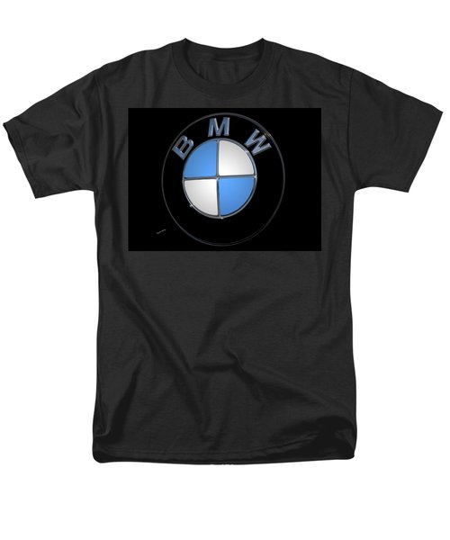 Bmw Emblem Men's T-Shirt  (Regular Fit) by DigiArt Diaries by Vicky B Fuller