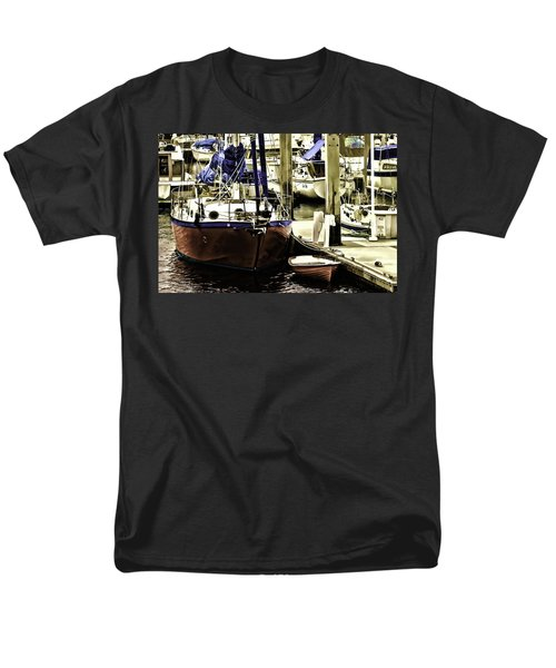 Boat Men's T-Shirt  (Regular Fit) by Muhie Kanawati