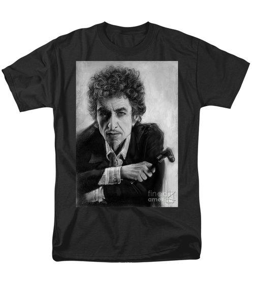 Bob Dylan Men's T-Shirt  (Regular Fit) by Andre Koekemoer