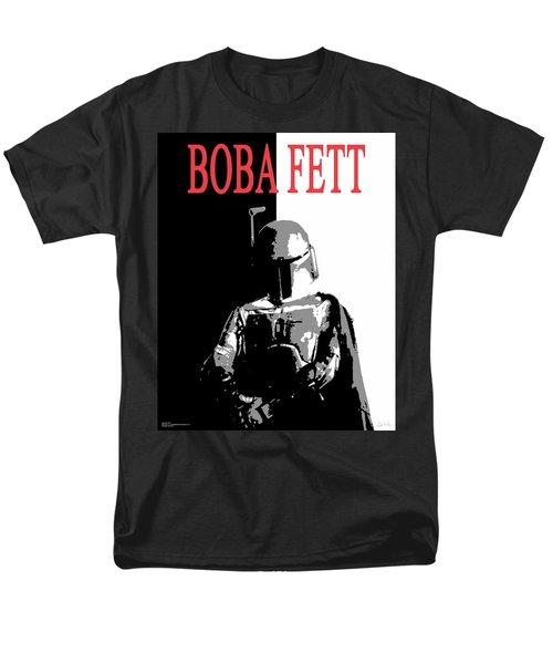Boba Fett- Gangster Men's T-Shirt  (Regular Fit) by Dale Loos Jr