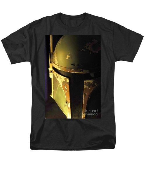 Boba Fett Helmet 124 Men's T-Shirt  (Regular Fit) by Micah May