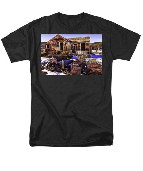 Men's T-Shirt  (Regular Fit) featuring the painting Bodie by Muhie Kanawati