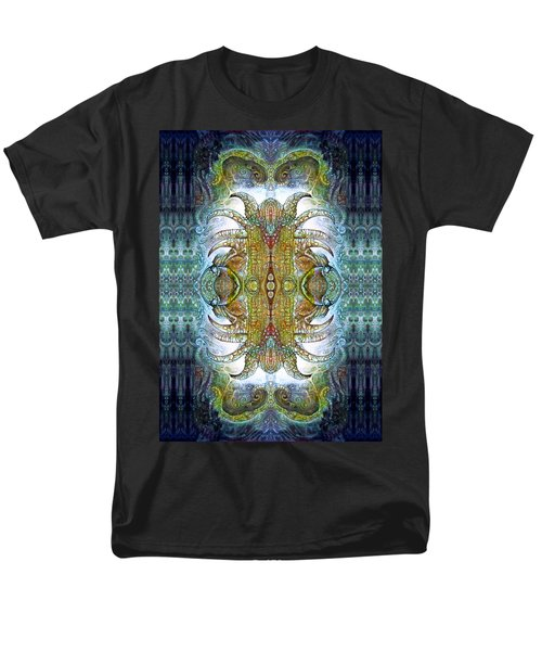 Men's T-Shirt  (Regular Fit) featuring the digital art Bogomil Variation 14 - Otto Rapp And Michael Wolik by Otto Rapp