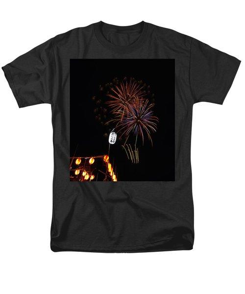 Men's T-Shirt  (Regular Fit) featuring the photograph Bon Adori Glow by John Swartz