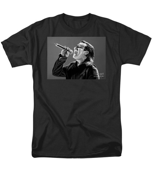 Bono U2 Men's T-Shirt  (Regular Fit) by Meijering Manupix