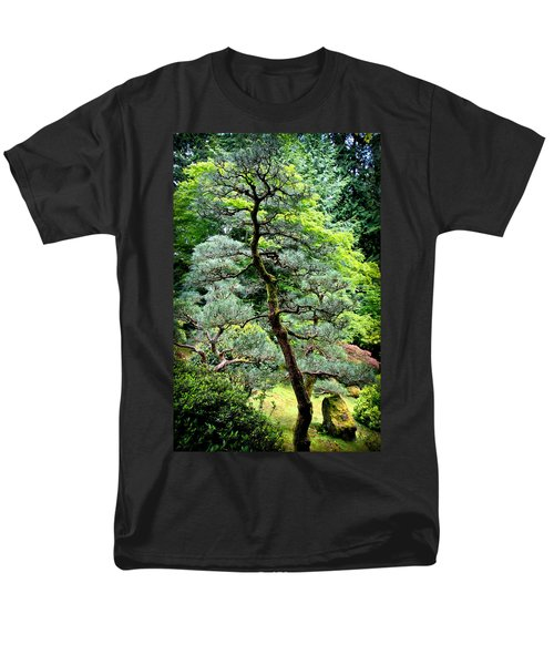 Bonsai Tree Men's T-Shirt  (Regular Fit) by Athena Mckinzie