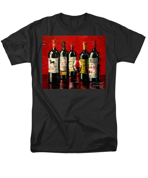 Bordeaux Collection Men's T-Shirt  (Regular Fit)