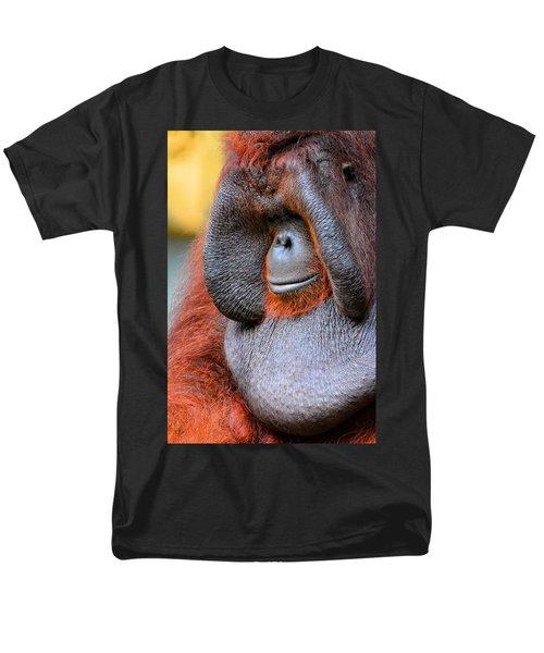 Bornean Orangutan Vi Men's T-Shirt  (Regular Fit) by Lourry Legarde
