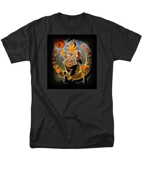 Boston Celtics Logo Men's T-Shirt  (Regular Fit)