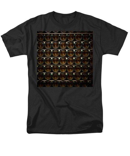 Bottles. Ca Del Bosco Winery. Franciacorta Docg Men's T-Shirt  (Regular Fit) by Jouko Lehto