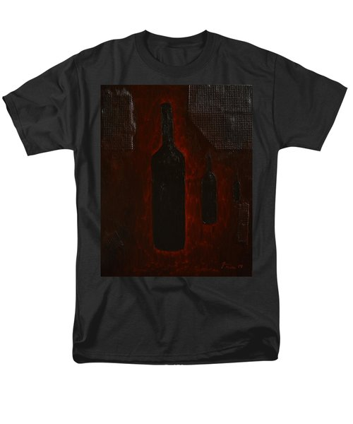 Men's T-Shirt  (Regular Fit) featuring the painting Bottles by Shawn Marlow