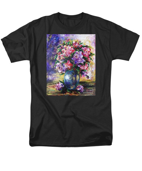 Men's T-Shirt  (Regular Fit) featuring the painting Bouquet Of Scents by Vesna Martinjak