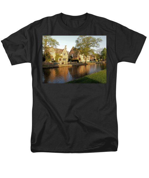 Bourton On The Water Men's T-Shirt  (Regular Fit) by Ron Harpham