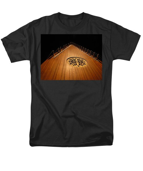 Men's T-Shirt  (Regular Fit) featuring the photograph Bowed Psaltery by Greg Simmons