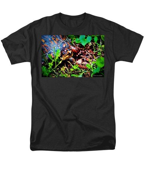 Box Turtle Men's T-Shirt  (Regular Fit) by Tara Potts