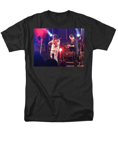 Men's T-Shirt  (Regular Fit) featuring the photograph Boyd And Dave by Aaron Martens
