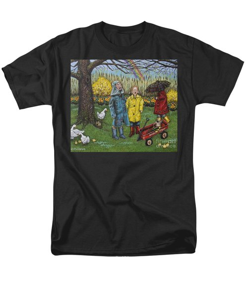 Boys Are What Ever Men's T-Shirt  (Regular Fit) by Linda Simon