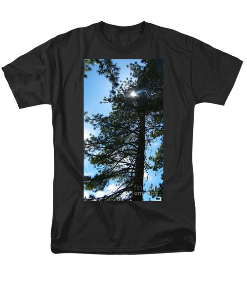 Men's T-Shirt  (Regular Fit) featuring the photograph Breakthrough by Bobbee Rickard