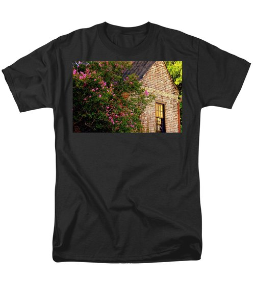 Men's T-Shirt  (Regular Fit) featuring the photograph Brick And Myrtle by Rodney Lee Williams