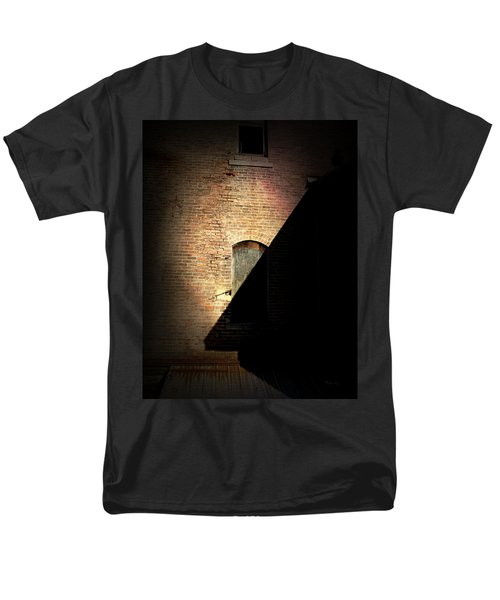 Brick And Shadow Men's T-Shirt  (Regular Fit)