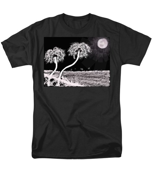 Bright Night In The Tropics Men's T-Shirt  (Regular Fit) by Renee Michelle Wenker