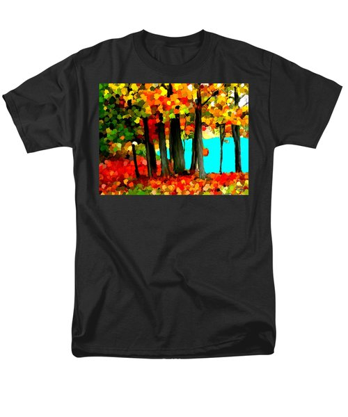 Brightness In The Forest Men's T-Shirt  (Regular Fit) by Bruce Nutting