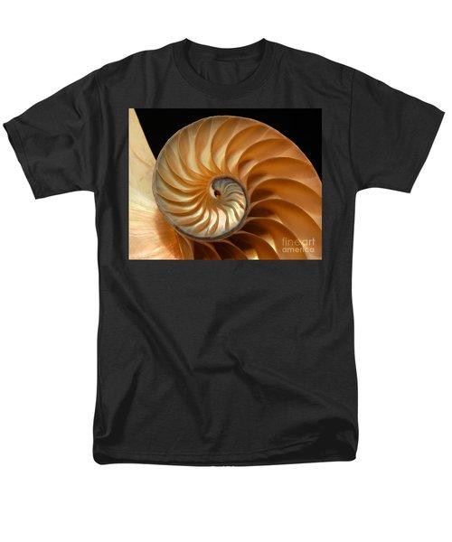 Brilliant Nautilus Men's T-Shirt  (Regular Fit) by Phil Cardamone