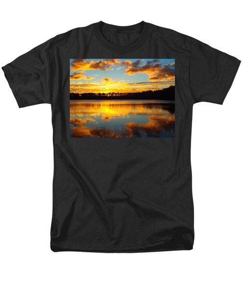 Men's T-Shirt  (Regular Fit) featuring the photograph Brilliant Sunrise by Dianne Cowen