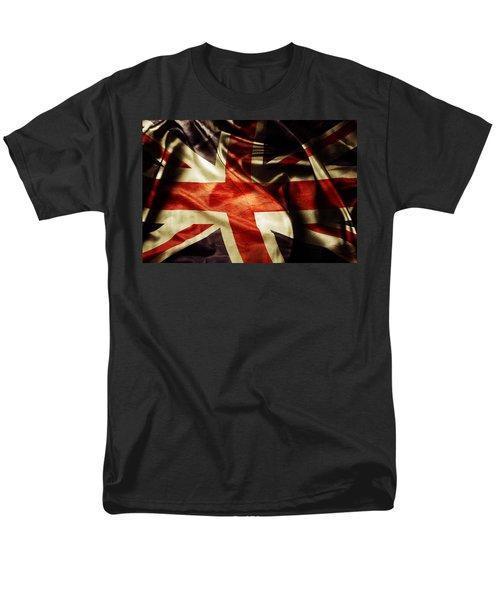 British Flag  Men's T-Shirt  (Regular Fit) by Les Cunliffe