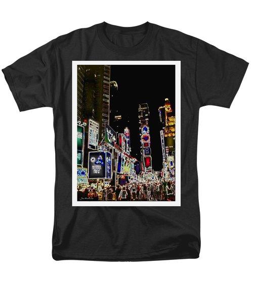 Broadway Men's T-Shirt  (Regular Fit) by Joan  Minchak