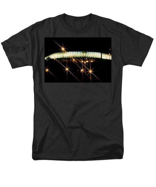 Bronx Night  Iv Yankee Stadium Men's T-Shirt  (Regular Fit)