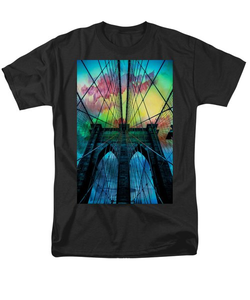 Psychedelic Skies Men's T-Shirt  (Regular Fit) by Az Jackson