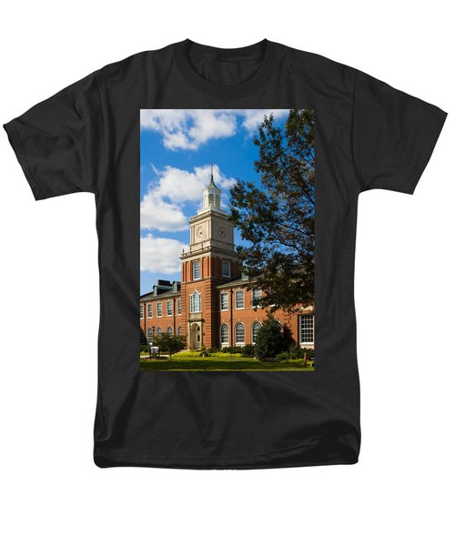 Browning Building At  A P S U Men's T-Shirt  (Regular Fit) by Ed Gleichman