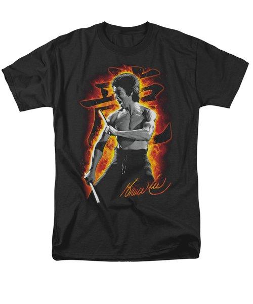 Bruce Lee - Dragon Fire Men's T-Shirt  (Regular Fit) by Brand A
