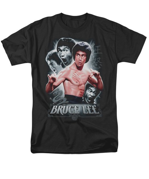 Bruce Lee - Inner Fury Men's T-Shirt  (Regular Fit) by Brand A