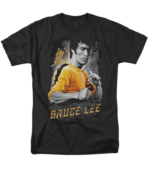 Bruce Lee - Yellow Dragon Men's T-Shirt  (Regular Fit) by Brand A