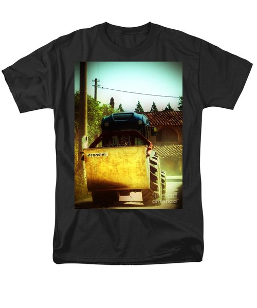 Men's T-Shirt  (Regular Fit) featuring the photograph Brunello Taxi by Angela DeFrias