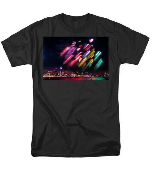 Men's T-Shirt  (Regular Fit) featuring the photograph Brushes by Mihai Andritoiu