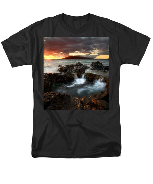 Bubbling Cauldron Men's T-Shirt  (Regular Fit) by Mike  Dawson