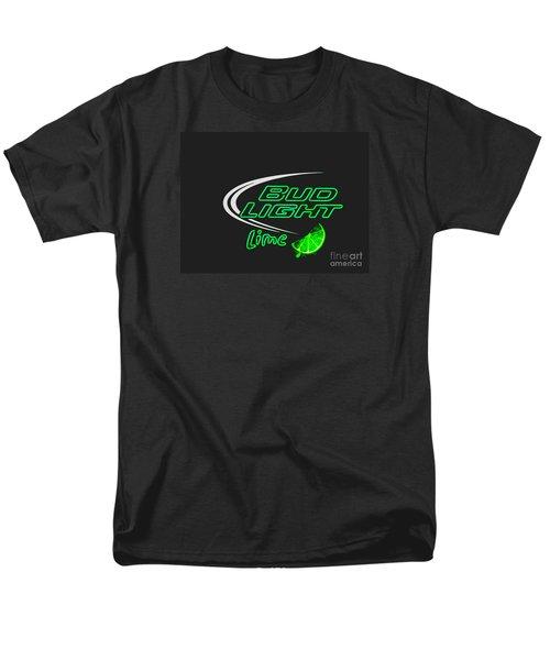 Bud Light Lime 2 Men's T-Shirt  (Regular Fit) by Kelly Awad