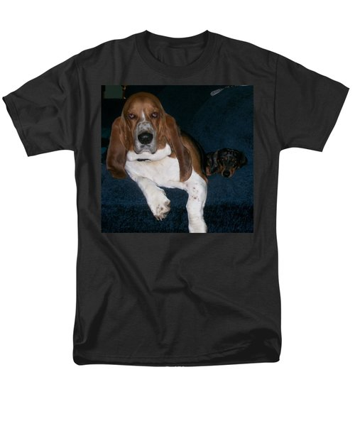 Men's T-Shirt  (Regular Fit) featuring the photograph Buddies by Peter Suhocke