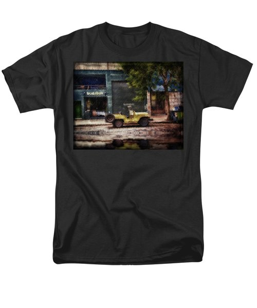 Buenos Aires Jeep Under The Rain Men's T-Shirt  (Regular Fit) by Diane Dugas