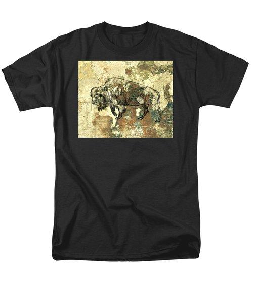 Buffalo 7 Men's T-Shirt  (Regular Fit) by Larry Campbell