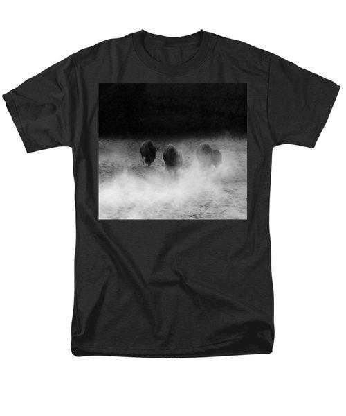 Buffalo Men's T-Shirt  (Regular Fit) by Janice Spivey