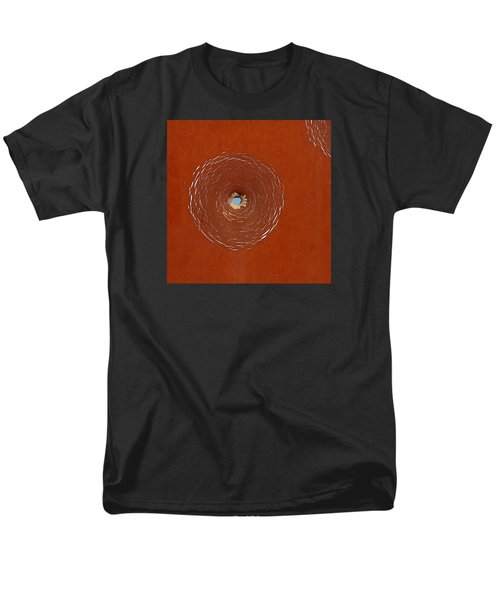 Bullet Hole Patterns Men's T-Shirt  (Regular Fit) by Art Block Collections