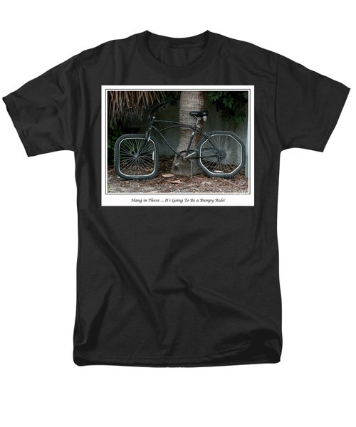Men's T-Shirt  (Regular Fit) featuring the photograph Bumpy Ride by Mariarosa Rockefeller