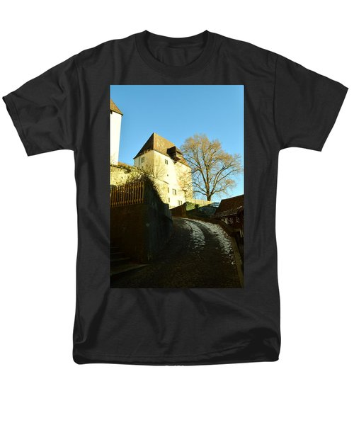 Men's T-Shirt  (Regular Fit) featuring the photograph Burgdorf Castle In December by Felicia Tica